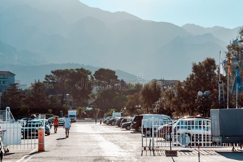 Δρόμος στο λιμένα στοκ εικόνα