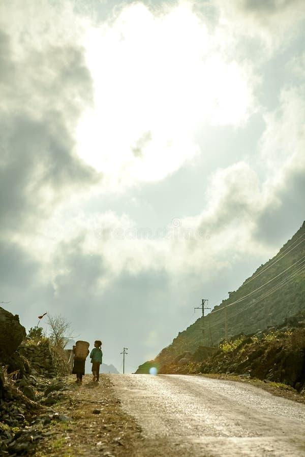 Δρόμος στο $cu πνευμόνων στοκ εικόνες