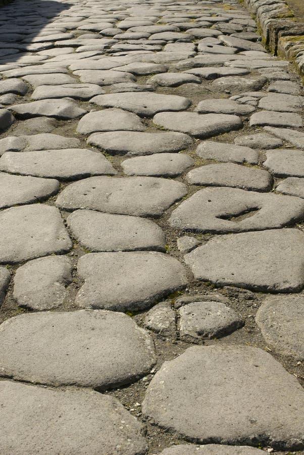 δρόμος της Πομπηίας στοκ φωτογραφίες