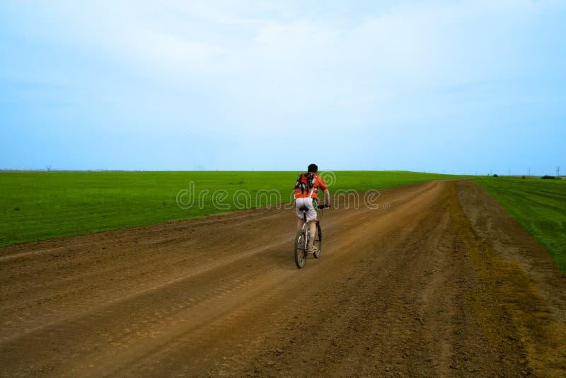 δρόμος φυλών επίγειων βουνών ποδηλάτων στοκ φωτογραφίες με δικαίωμα ελεύθερης χρήσης