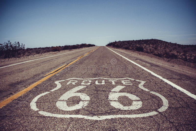 Δρόμος 66 στοκ φωτογραφίες με δικαίωμα ελεύθερης χρήσης