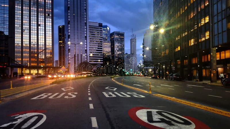 Δρόμος Alem στοκ εικόνα με δικαίωμα ελεύθερης χρήσης