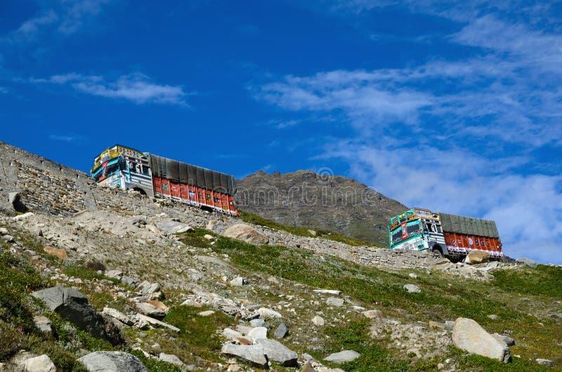 Δρόμος manali-Leh στοκ εικόνες