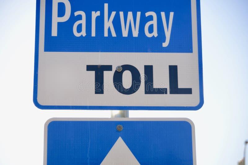 Δρόμος Tollway φόρου στοκ εικόνα με δικαίωμα ελεύθερης χρήσης