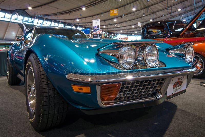 Δρόμωνας Chevrolet αθλητικών αυτοκινήτων Stingray C3, 1972 στοκ εικόνες