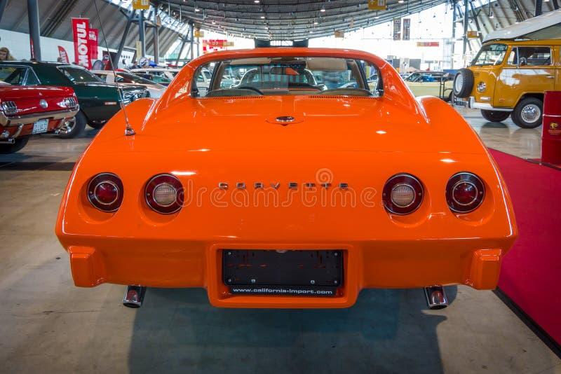Δρόμωνας Chevrolet αθλητικών αυτοκινήτων Stingray Coupe C3, 1975 στοκ φωτογραφίες με δικαίωμα ελεύθερης χρήσης