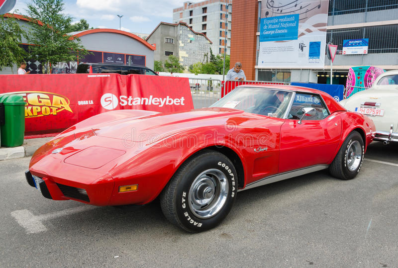 Δρόμωνας Chevrolet Stingray C3 στοκ φωτογραφίες με δικαίωμα ελεύθερης χρήσης