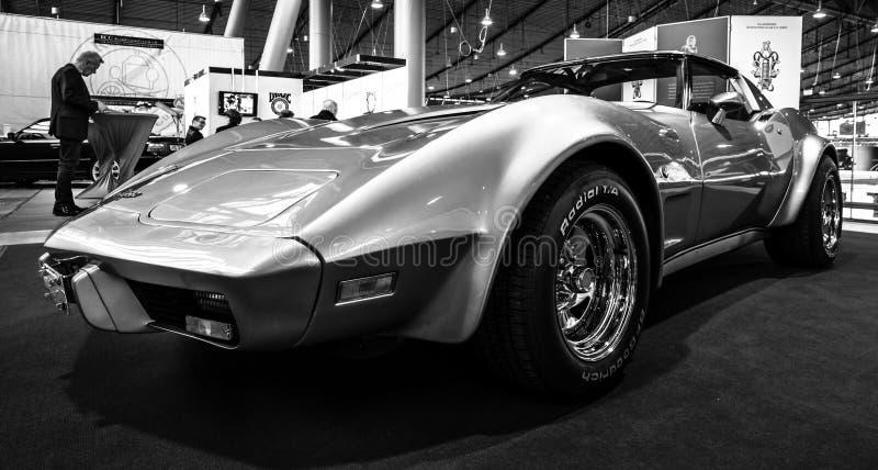 Δρόμωνας Stingray Targa, 1977 Chevrolet αθλητικών αυτοκινήτων στοκ εικόνες