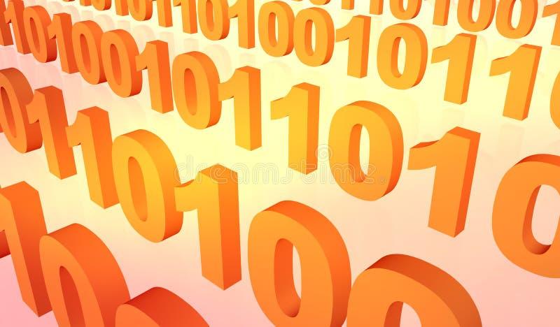 Download δυαδικά ρεύματα απεικόνιση αποθεμάτων. εικόνα από οκτάδα - 114487