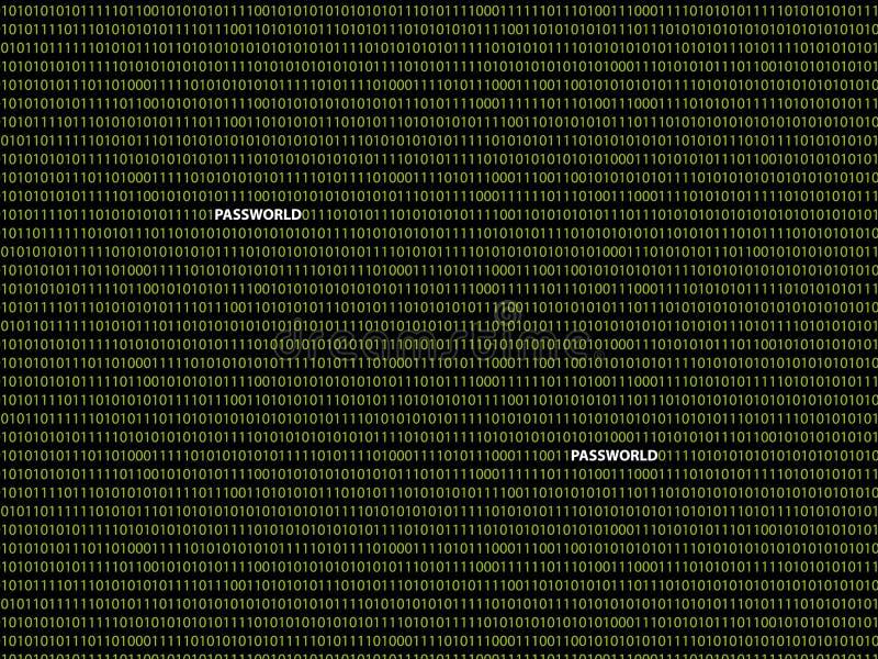 Δυαδικός κωδικός πρόσβασης υποβάθρου στοκ εικόνες με δικαίωμα ελεύθερης χρήσης