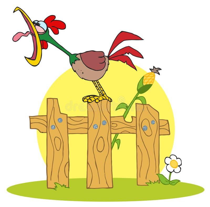 Download δυνατό δάσος μίσχων κοκκό&rh Διανυσματική απεικόνιση - εικονογραφία από γεωργίας, cockerel: 17058504