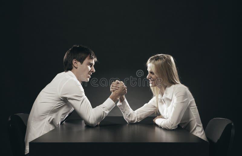 Δυσκολίες σχέσης στοκ φωτογραφίες