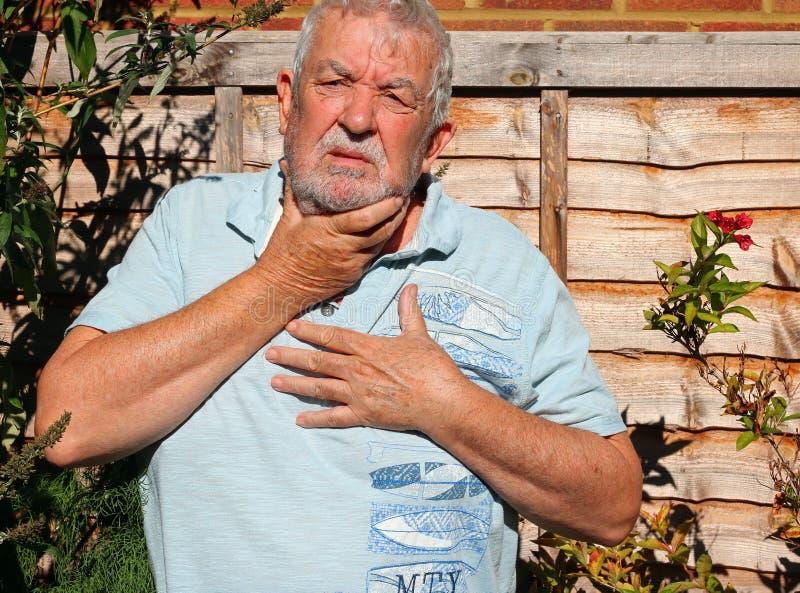 δυσπεψία όξινο reflux στοκ φωτογραφίες