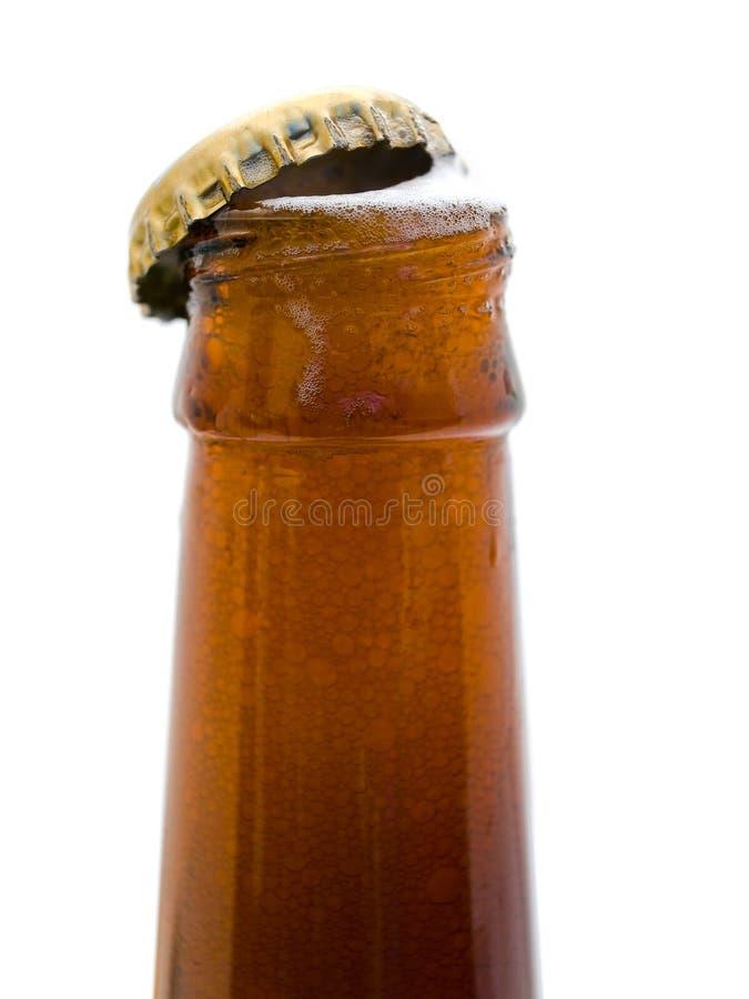 δυσχέρεια μπουκαλιών μπύρας στοκ εικόνες