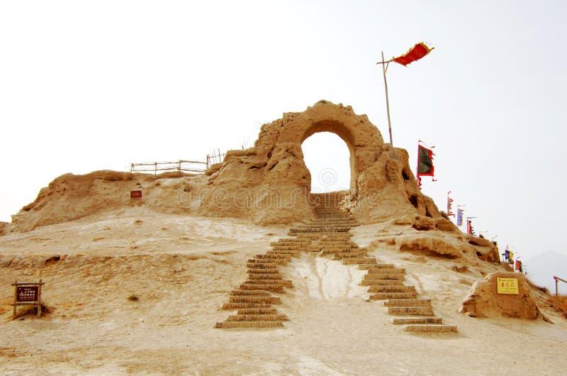 Δυτικά κινηματογραφικά στούντιο της Κίνας στοκ φωτογραφία