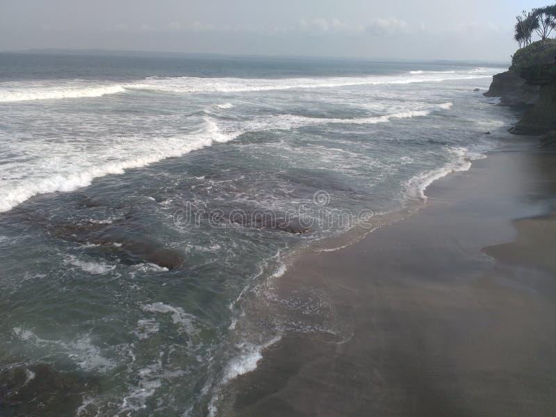 δυτική Ιάβα hiu batu παραλιών στοκ φωτογραφία με δικαίωμα ελεύθερης χρήσης