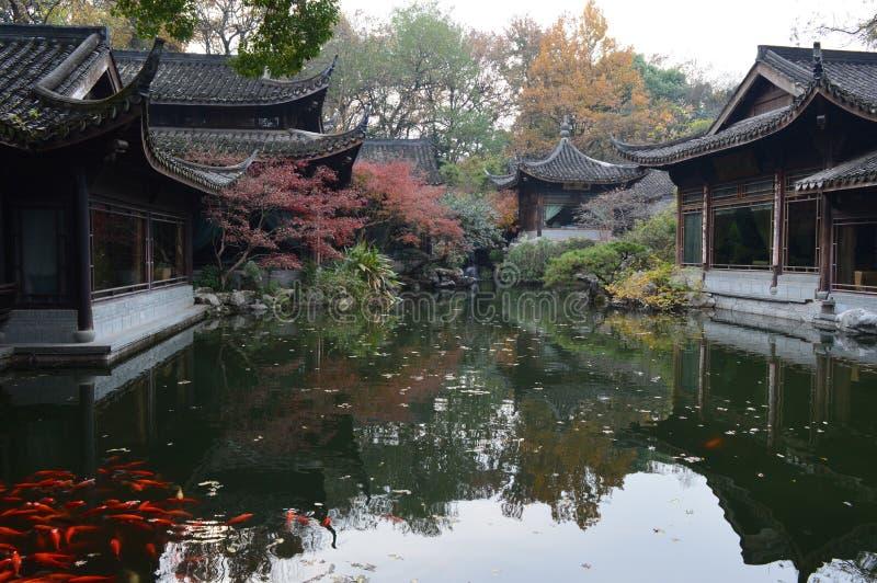 Δυτική λίμνη Hangzhou στοκ φωτογραφία με δικαίωμα ελεύθερης χρήσης