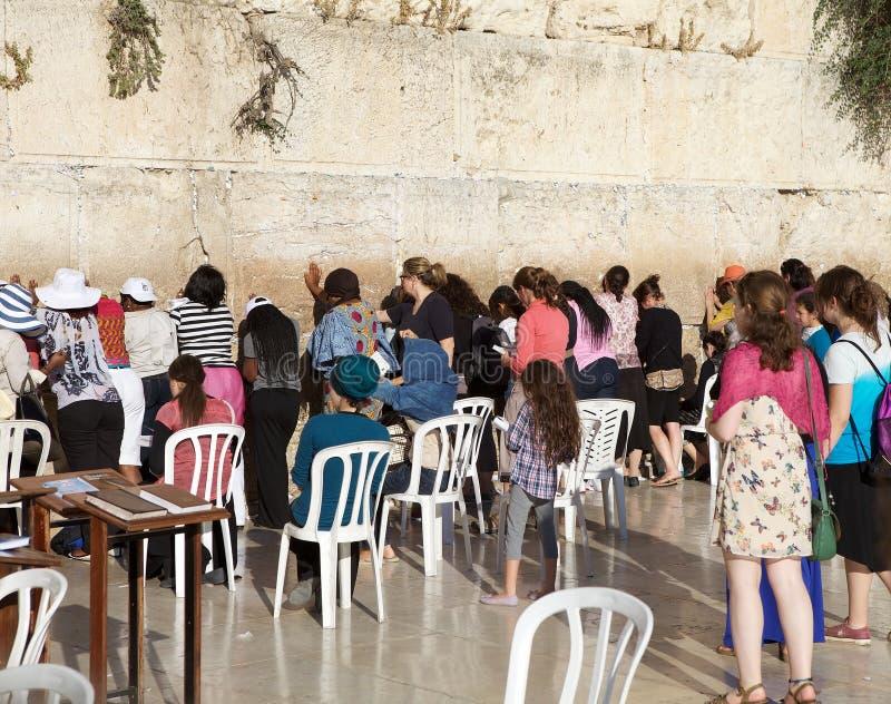 Δυτικός τοίχος της Ιερουσαλήμ στοκ εικόνες