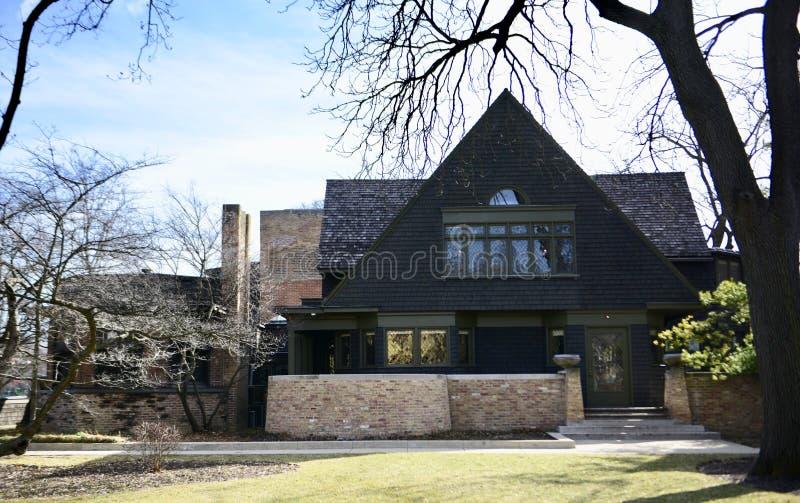 Δυτικό πρόσωπο του σπιτιού & του στούντιο Wright στοκ φωτογραφίες με δικαίωμα ελεύθερης χρήσης