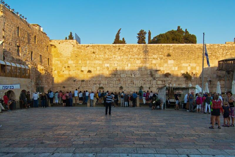 Δυτικό τείχος στοκ εικόνα