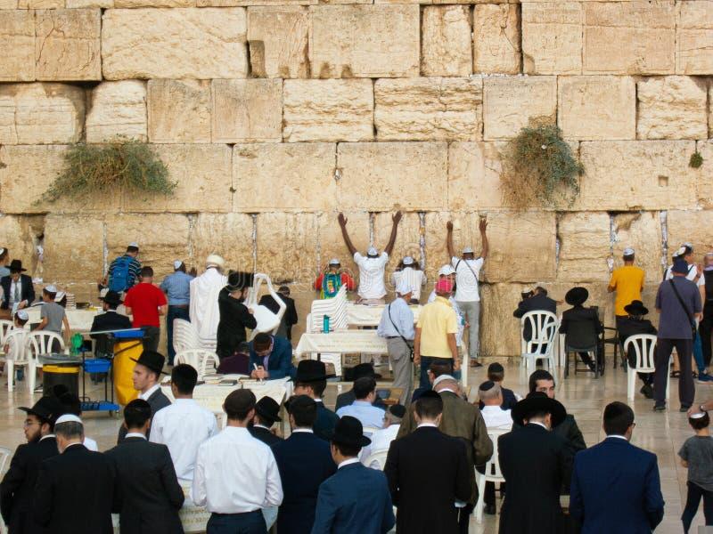 Δυτικό τείχος στοκ φωτογραφία με δικαίωμα ελεύθερης χρήσης