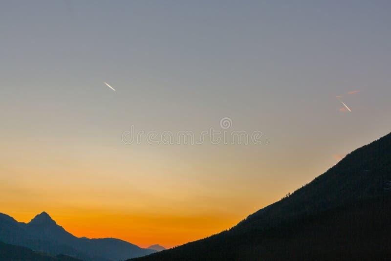 Δυτικό τοπίο ανατολής Carinthia αλπικό, Αυστρία στοκ εικόνες με δικαίωμα ελεύθερης χρήσης