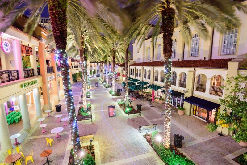 Δυτικό Palm Beach CityPlace στοκ εικόνα