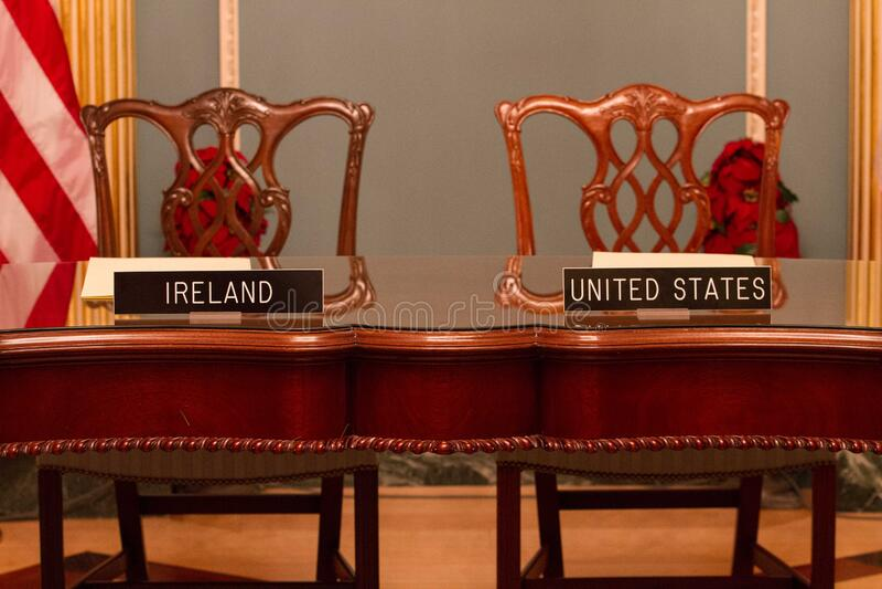 Δωδεκάμηνη ιρλανδική εργασία και ταξίδια (IWT) Μνημόνιο συμφωνίας στοκ εικόνα με δικαίωμα ελεύθερης χρήσης