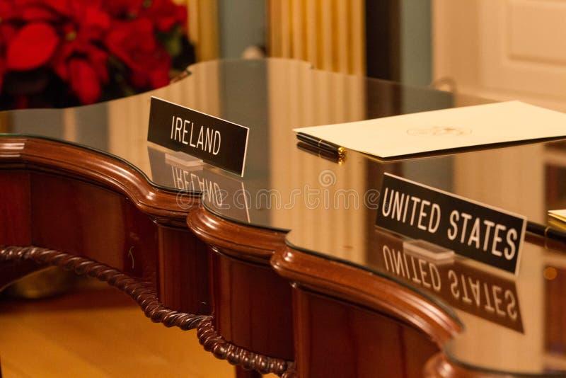 Δωδεκάμηνη ιρλανδική εργασία και ταξίδια (IWT) Μνημόνιο συμφωνίας στοκ εικόνες με δικαίωμα ελεύθερης χρήσης