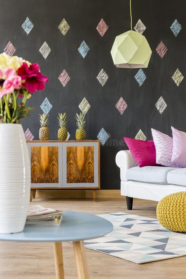 Δωμάτιο για μια καλλιτεχνική ψυχή στοκ εικόνες με δικαίωμα ελεύθερης χρήσης