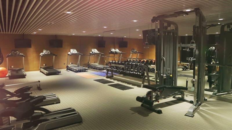 Δωμάτιο γυμναστικής απόθεμα βίντεο
