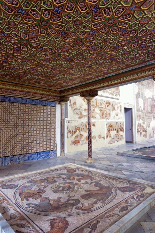 """Δωμάτιο Δ """"Althiburos του Εθνικού Μουσείου Bardo, Τυνησία, Τυνησία στοκ εικόνες"""
