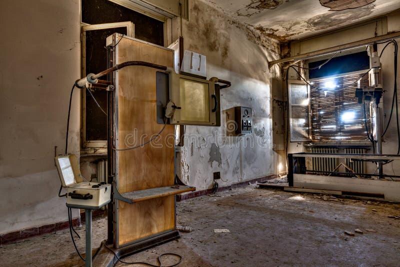 Εγκαταλειμμένο νοσοκομείο στοκ φωτογραφία