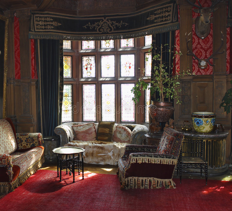 δωμάτιο κάστρων στοκ εικόνα