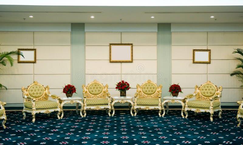 δωμάτιο λήψης ξενοδοχεί&omeg στοκ φωτογραφία με δικαίωμα ελεύθερης χρήσης