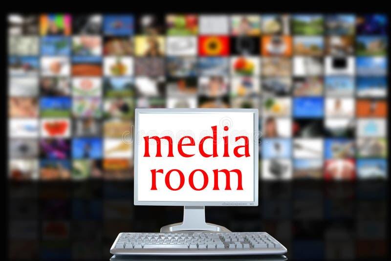 δωμάτιο μέσων στοκ εικόνες