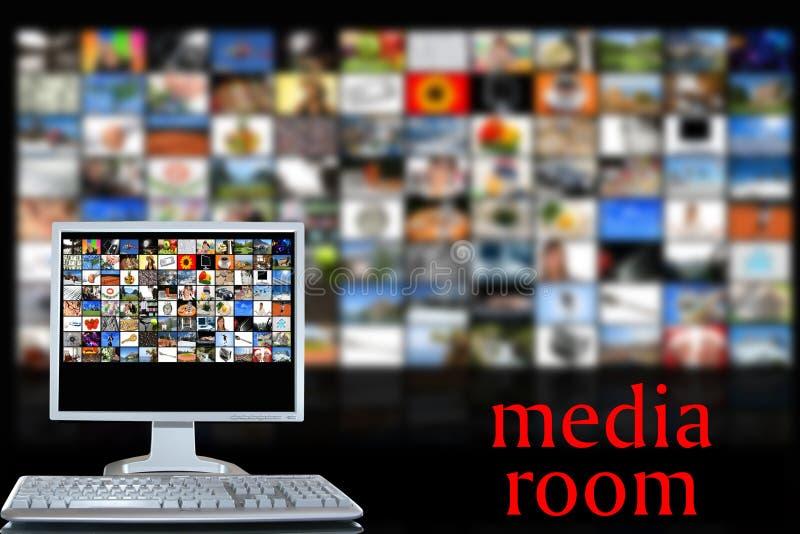 δωμάτιο μέσων ελεύθερη απεικόνιση δικαιώματος