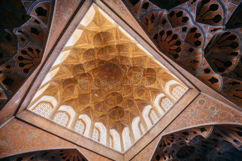 Δωμάτιο μουσικής στο παλάτι του Ali Qapu στοκ φωτογραφία με δικαίωμα ελεύθερης χρήσης
