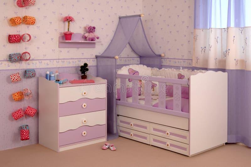 δωμάτιο μωρών στοκ εικόνα
