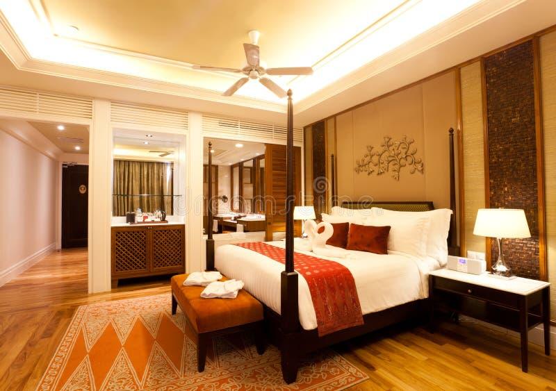 Δωμάτιο ξενοδοχείων πολυτελείας στοκ εικόνα