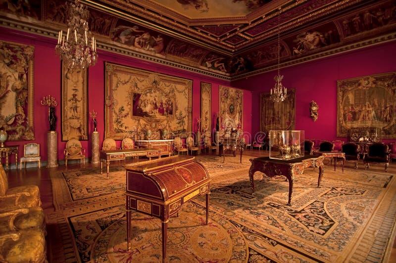 δωμάτιο παλατιών στοκ φωτογραφία