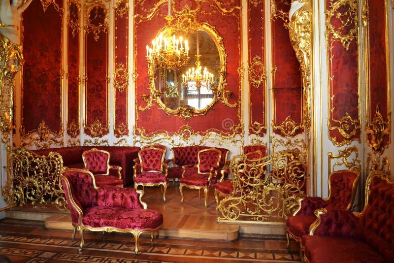 Δωμάτιο παλατιών στοκ εικόνα