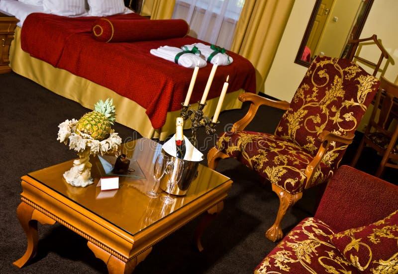 δωμάτιο πολυτέλειας ξενοδοχείων στοκ φωτογραφίες