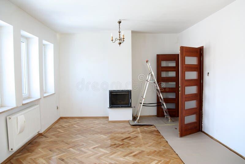 Δωμάτιο συνεδρίασης ανακαίνισης στοκ εικόνα με δικαίωμα ελεύθερης χρήσης