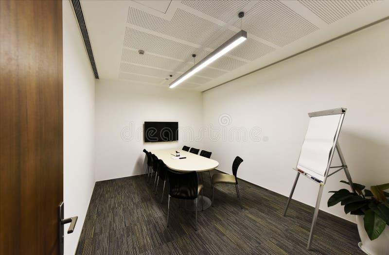 Δωμάτιο τηλεδιάσκεψης στοκ εικόνα με δικαίωμα ελεύθερης χρήσης