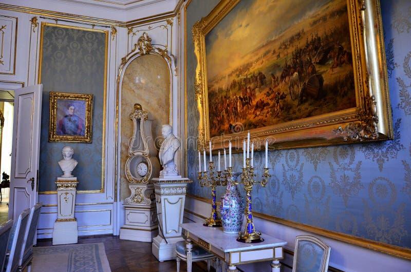 Δωμάτιο του αυτοκρατορικού μουσείου στη Βιέννη στοκ εικόνες με δικαίωμα ελεύθερης χρήσης