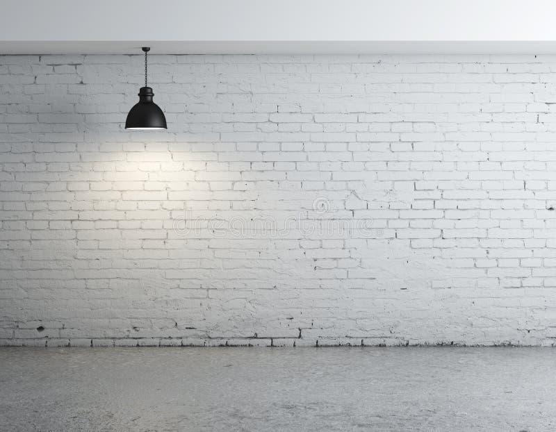 Δωμάτιο τούβλου στοκ φωτογραφία με δικαίωμα ελεύθερης χρήσης