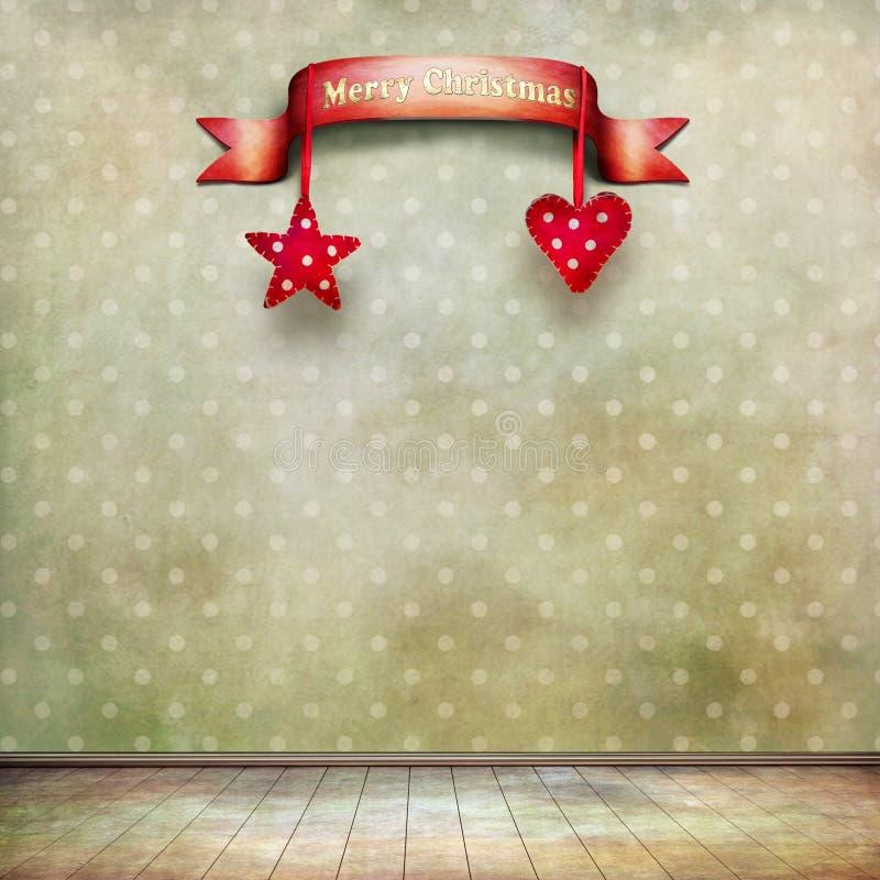 Δωμάτιο Χριστουγέννων διανυσματική απεικόνιση
