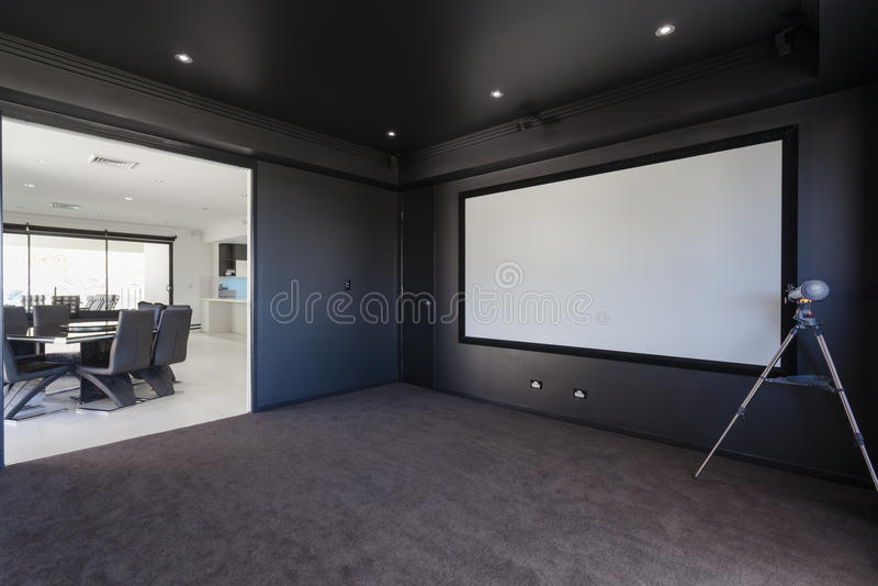 Δωμάτιο MEDIA στοκ φωτογραφία με δικαίωμα ελεύθερης χρήσης