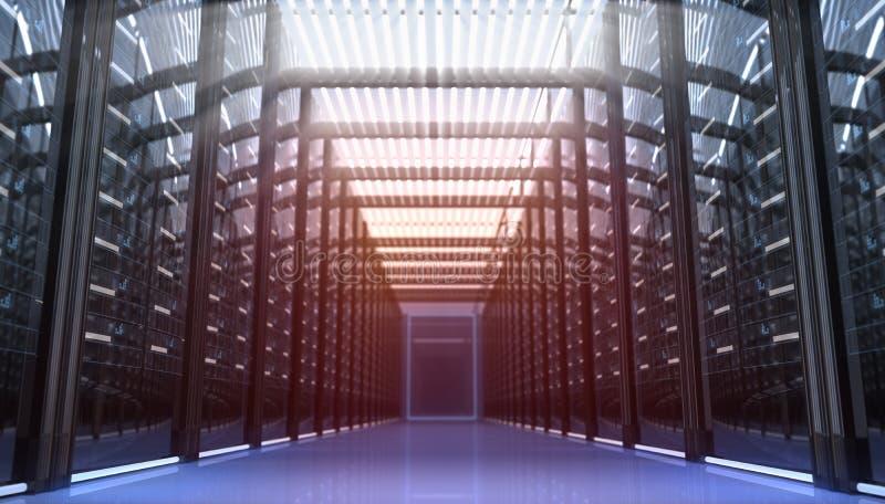 Δωμάτιο Techno διανυσματική απεικόνιση